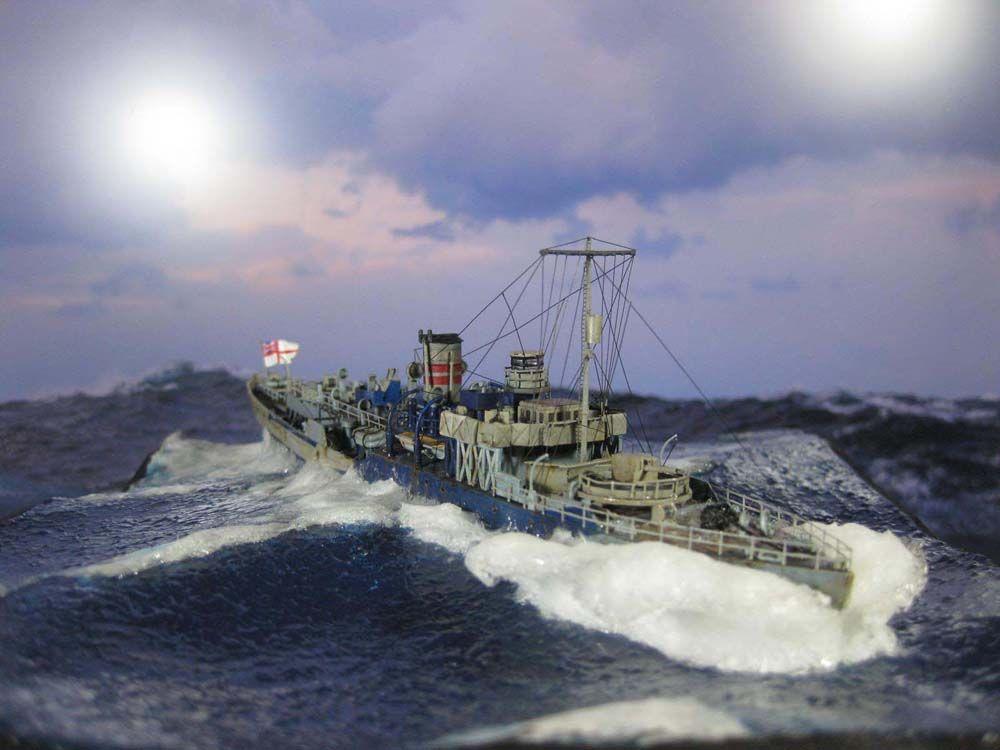 1/350 HMS Spriraea (Mirage Hobby)