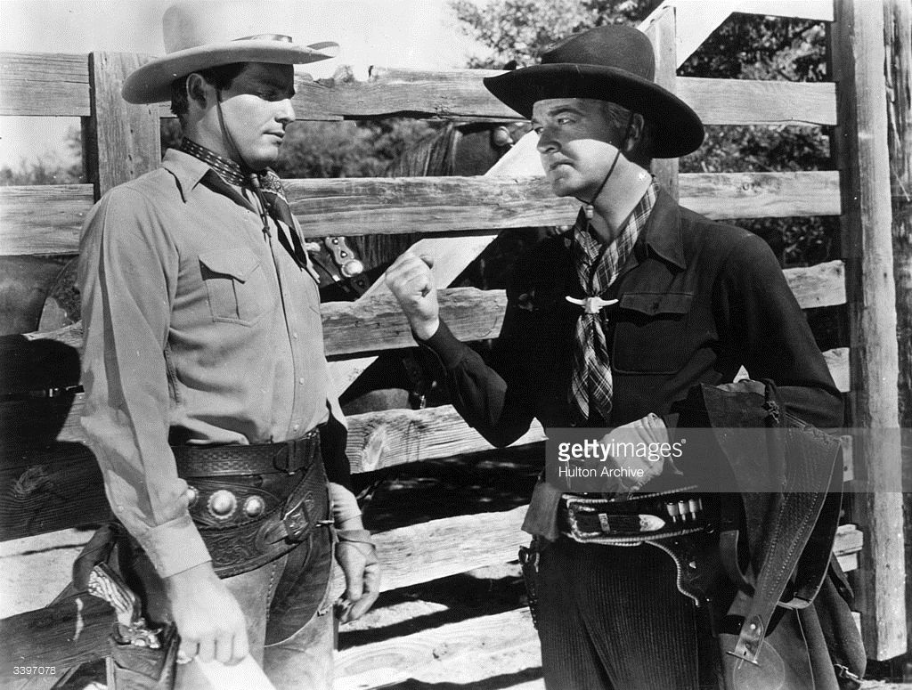 William Boyd As Hopalong Cassidy In A Scene From The Film