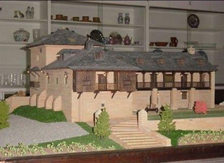 Maqueta de palacio en un viejo pueblo de espa a - Method homes espana ...