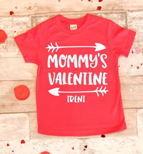 658e0e553 28 Awesome DIY Valentine's Day T-Shirt Ideas | Crafty | Toddler ...