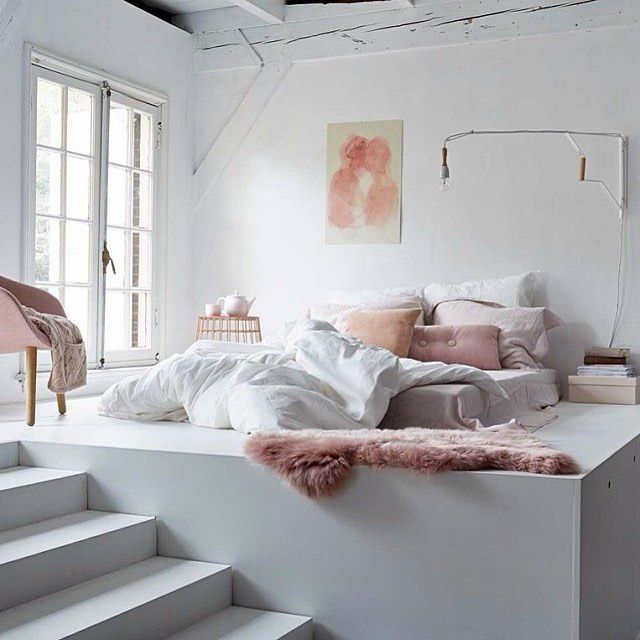 Modern Bedroom Pink Grey And White Pink Decor My Modern
