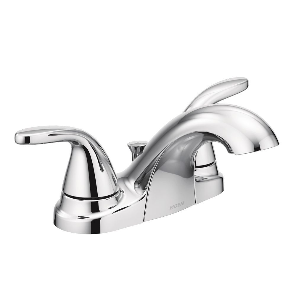 Adler 4 Inch Centreset 2 Handle Bathroom Faucet In Chrome