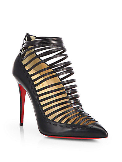 Christian Louboutin Multi-Strap Ankle Boots free shipping latest collections clearance cheapest price T1b1hq