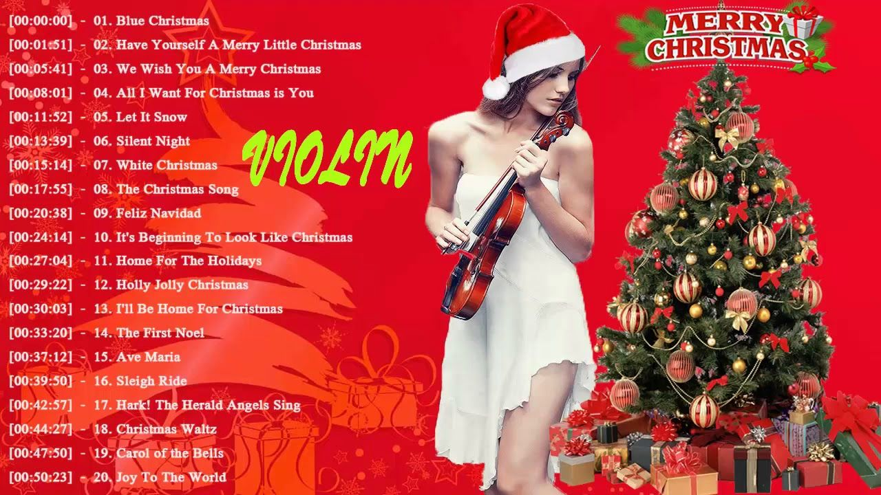 musique de noel 2018 youtube Violin Instrumental Christmas Songs 2018 ♪ღ♫ Top 20 Violin  musique de noel 2018 youtube