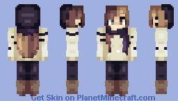 ʙᴀᴅ ʜᴀʙɪᴛ ᴄʟᴀɪʀᴇꜱ ꜰᴀɴꜱᴋɪɴ 11 25 Minecraft Skin