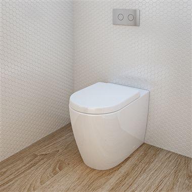 Caroma Urbane Wall Hung Toilet Suite Toilet Suites Wall Hung Toilet Toilet