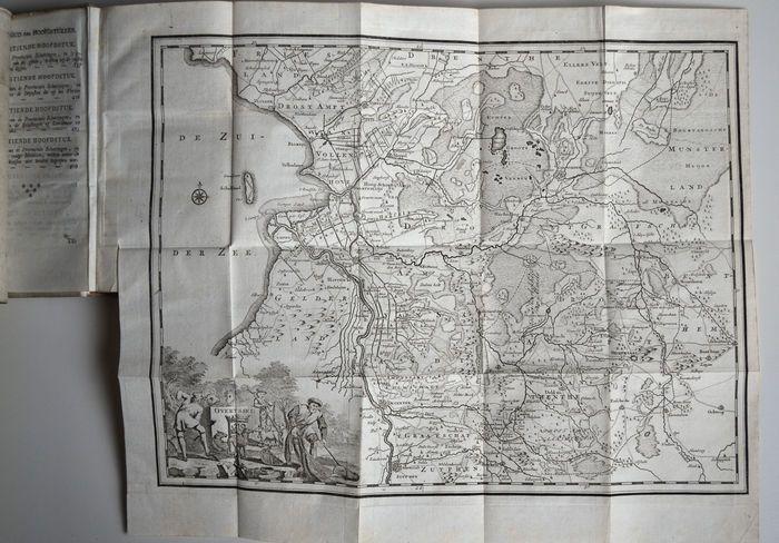 Nu in de #Catawiki veilingen: [Gerhard Dumbar] - Hedendaagsche historie of Tegenwoordige staat van [...] Overyssel...