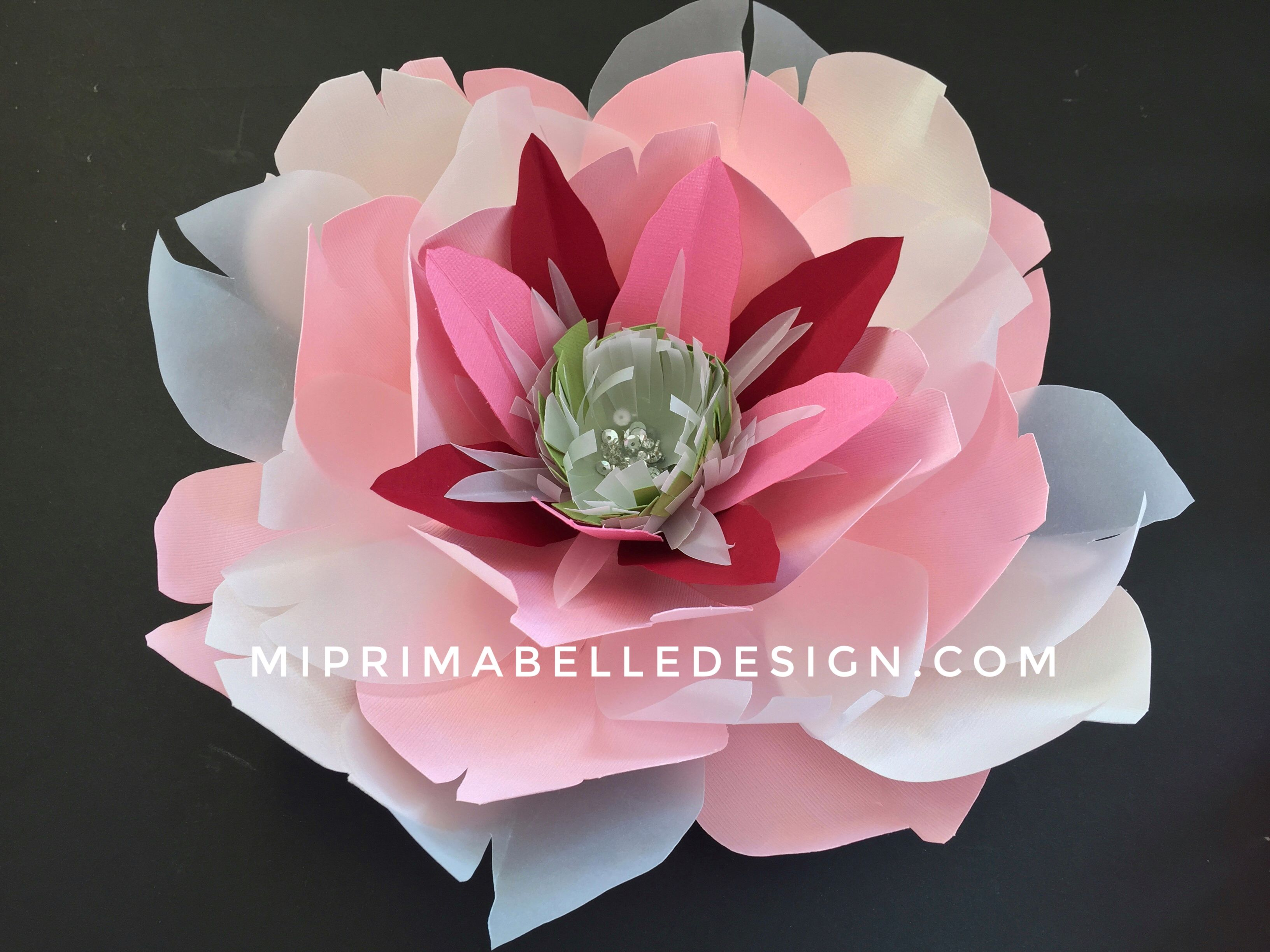 Large Paper Flowers For Baby Girls Nursery Room Decor Or For A