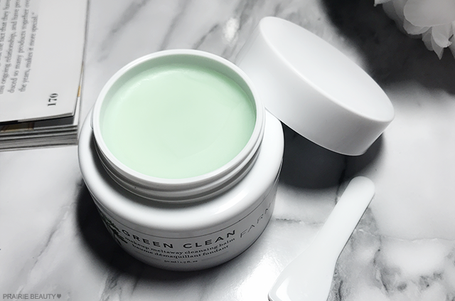 REVIEW Farmacy Green Clean Makeup Meltaway Cleansing Balm