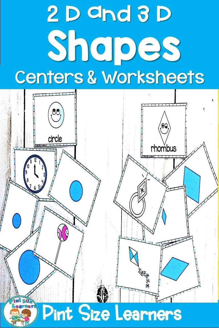 Shapes Center Activities And Worksheets Dimensional Shapes Shapes Worksheets 3 Dimensional Shapes [ 1152 x 768 Pixel ]