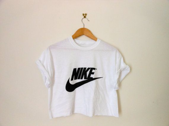 e3479cacbf108 classic white nike swag style crop top tshirt fresh boss dope celebrity  festival clothing