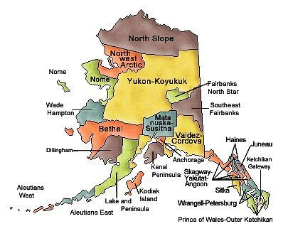Map Of Alaska Cities Alaska Road Map Alaska Map Alaska Map