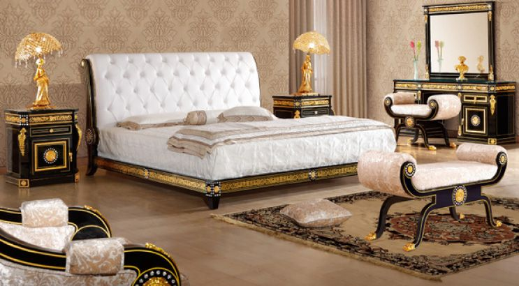 French Luxury Bedding Ensembles Top And Best Classic Furniture In Qatar And Classical Interior Design
