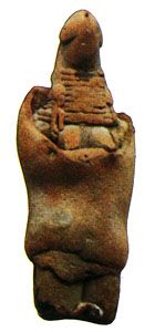 Mohenjo-daro mother goddess