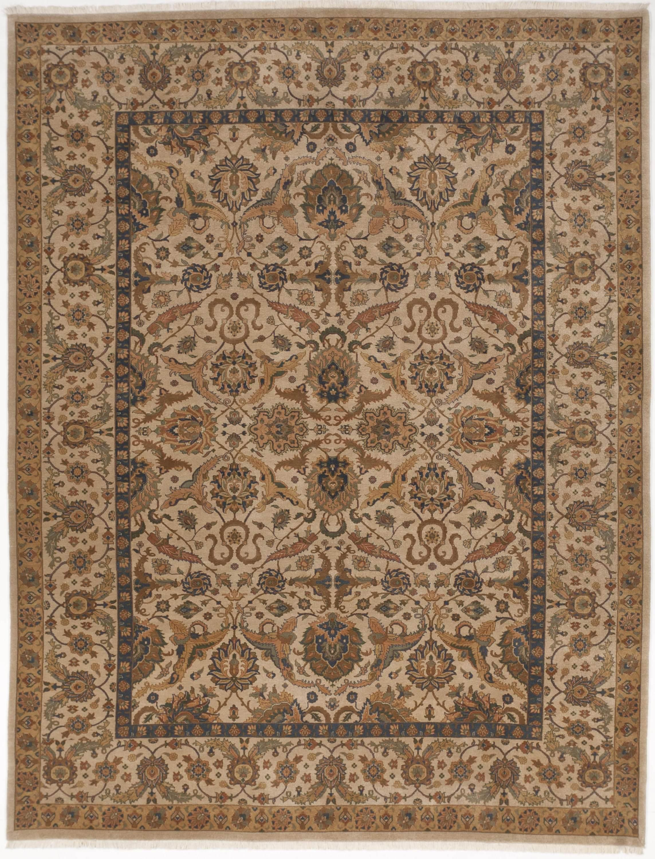Indo Persian Hand Knotted Rug 9 2 X 12 Indian Rugs Pinterest