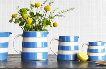Cornishware Classic British Kitchenware By T G Green Cornishware Blue Pottery Tableware