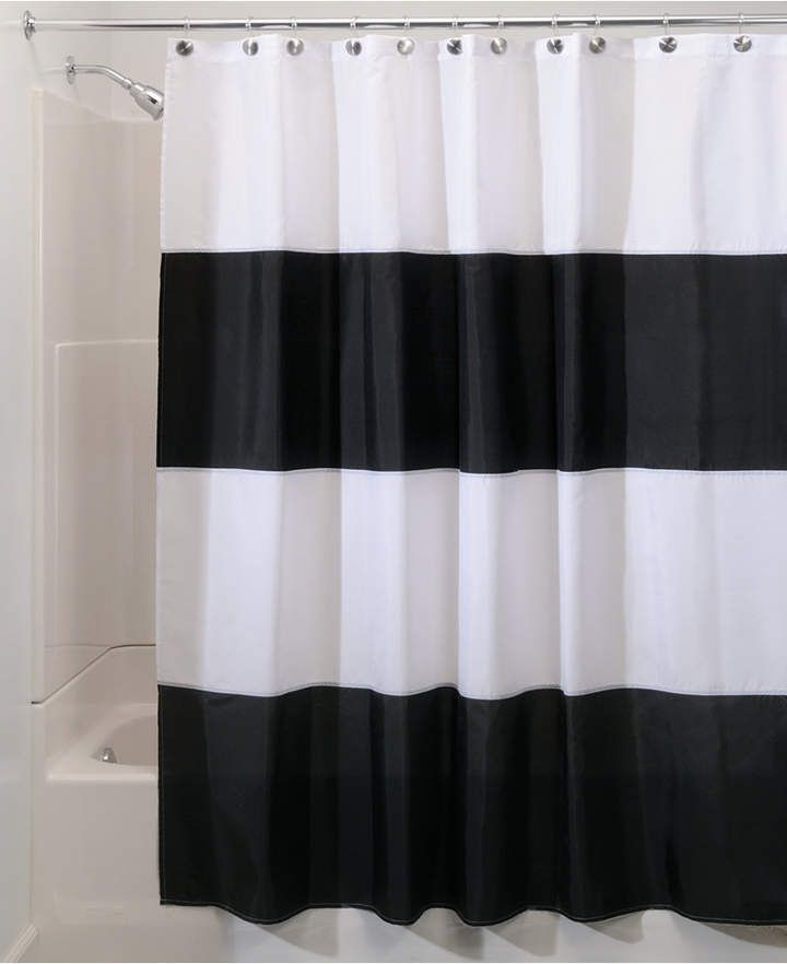 Interdesign Zeno Stripe 72 X 84 Shower Curtain Reviews