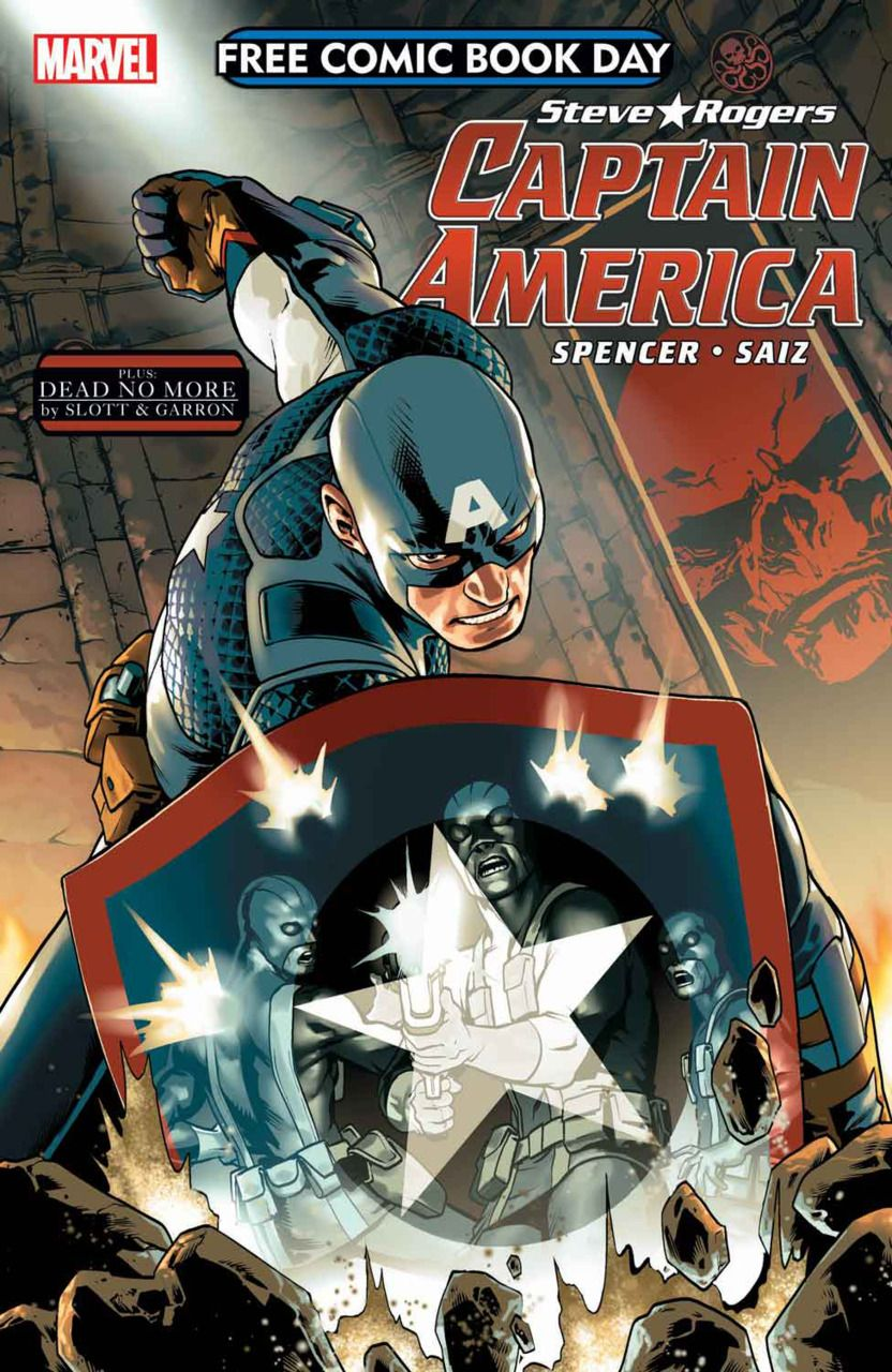 Free Comic Book Day 2016 Captain America 1 Issue Captain America Comic Free Comic Books Free Comics
