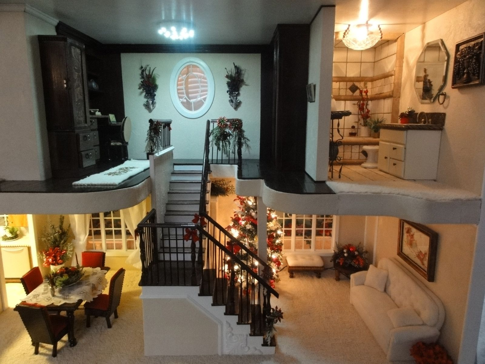 the ultimate custom barbie house ebay barbie 39 s bungalow pinterest barbie house barbie. Black Bedroom Furniture Sets. Home Design Ideas