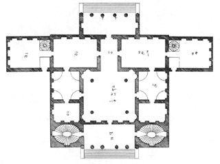 Palladio S Italian Villas Cornaro Palladio Vintage House Plans Villa Design