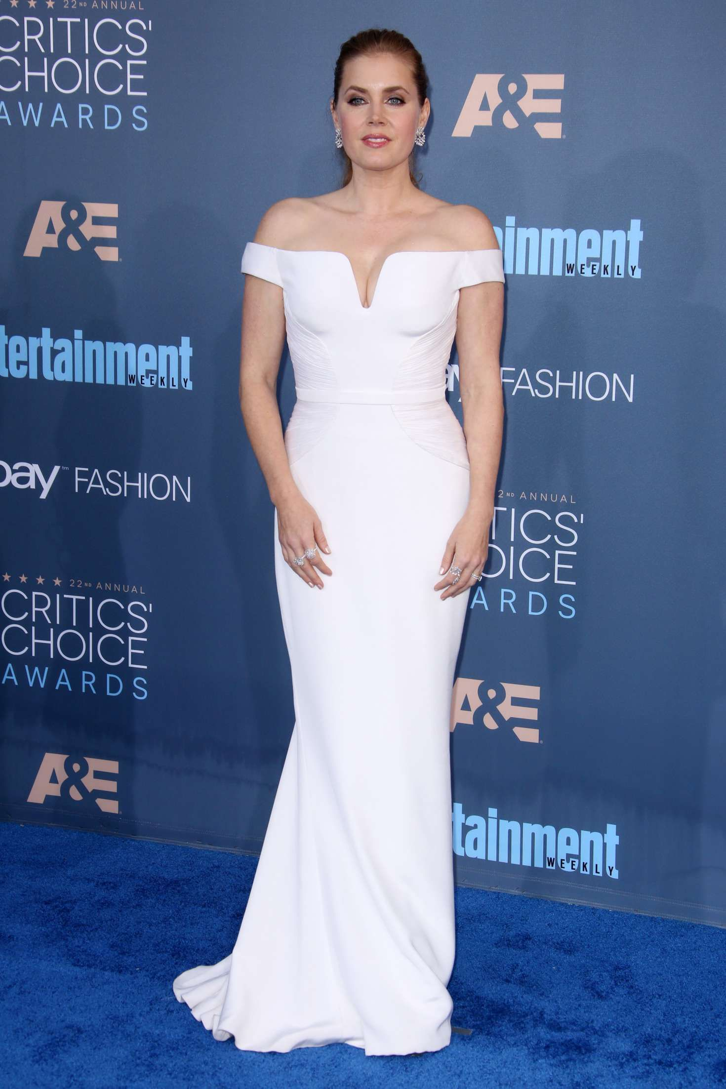Amy Adams in Atelier Versace at 22nd Annual Critics' Choice Awards