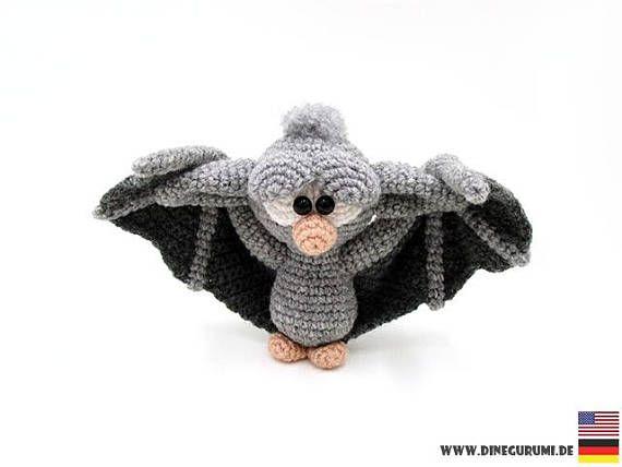 Halloween Amigurumi Crochet Pattern : Little bat crochet pattern bat amigurumi bat crochet bat crochet