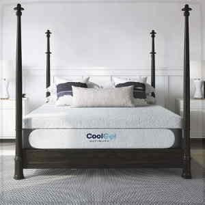 Classic Brands Cool Gel 1 0 Ultimate Gel Memory Foam 14 Inch Mattress In 2020 Pillow Mattress Diy Bed Frame Plans Mattress