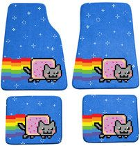 Nyan Cat Floor Mats