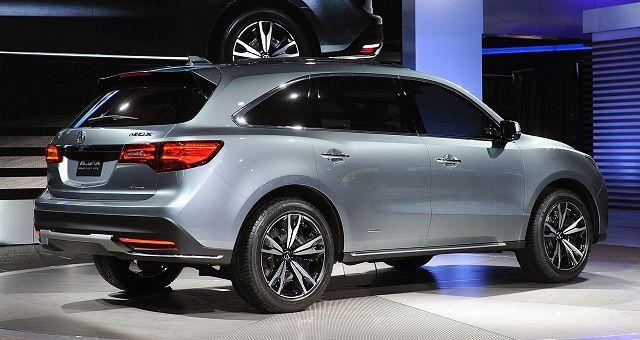 Acura Mdx Suv Rear View Center Car Picture