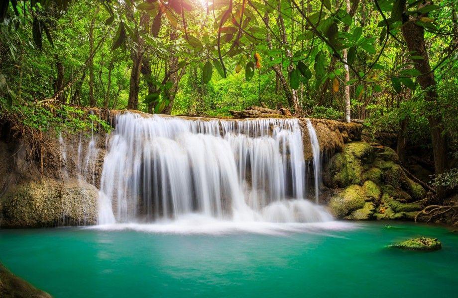 Beautiful waterfall Ultra HD 4k wallpaper - UHD-Wallpapers.Net | Papel de parede cachoeira, Parede de cachoeira, Wallpapers natureza