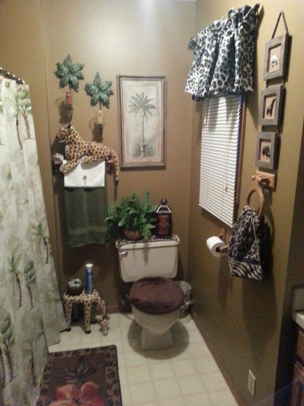 safari bathroom - Safari Decor