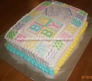 homemade baby shower quilt cake baby louper stuff pinterest