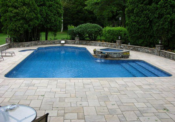 15 Lazy L Swimming Pool Designs Inground Pool Designs Small