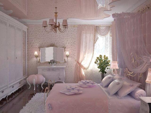 Schlafzimmer Rosa ~ Besten princess bedrooms bilder auf schlafzimmer