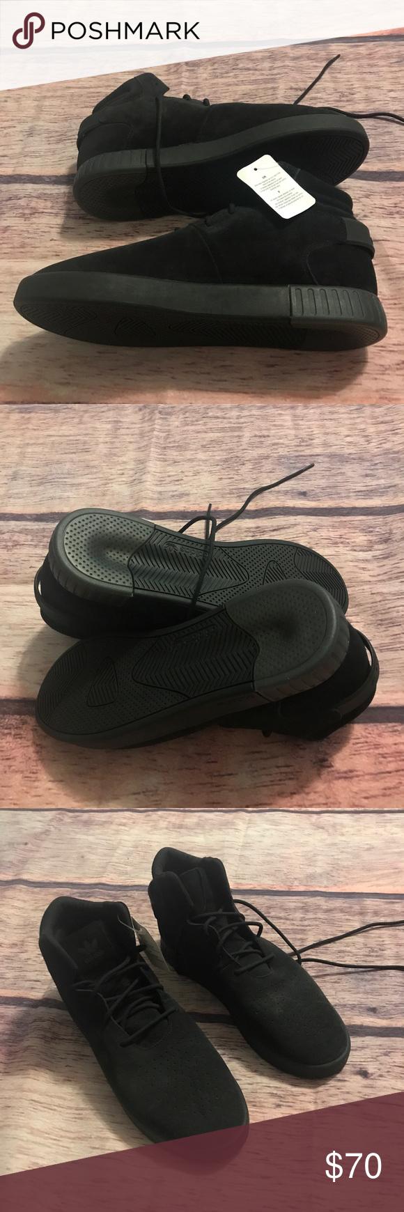 more photos ee424 60779 adidas Shoes   Adidas Tubular Invader Mens Black Shoes ...