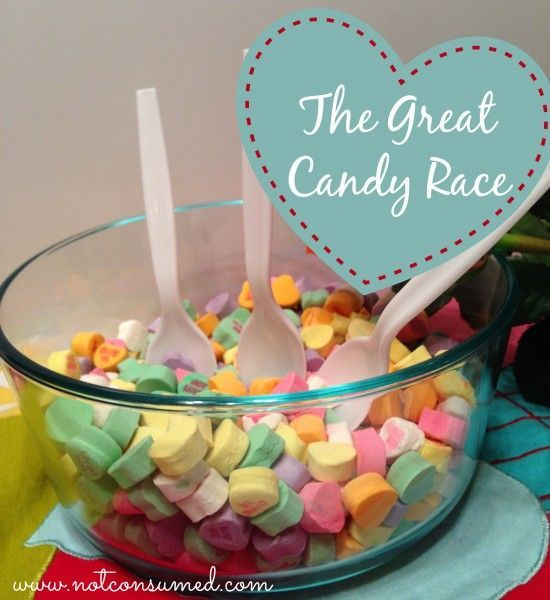 8 candy heart games for valentines day - Valentine Games For Church