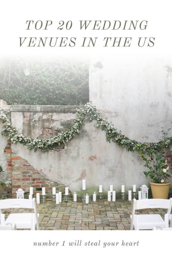 Top 20 Most Beautiful Wedding Venues in the US | Beautiful ...