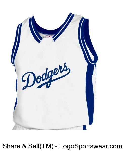 ee1596c58db Custom Dodgers basketball jersey!