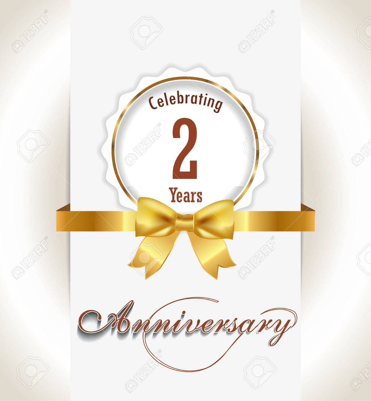 2nd Anniversary Background 2 Years Celebration Invitation Card 2nd Anniversary Card Des Anniversary Cards For Wife Anniversary Cards Anniversary Greeting Cards