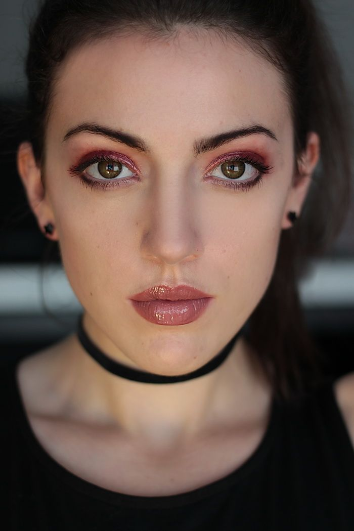 grunge make up blogger