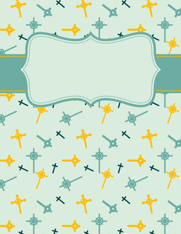 Free Printable Cross Binder Cover Template Download The Cover In