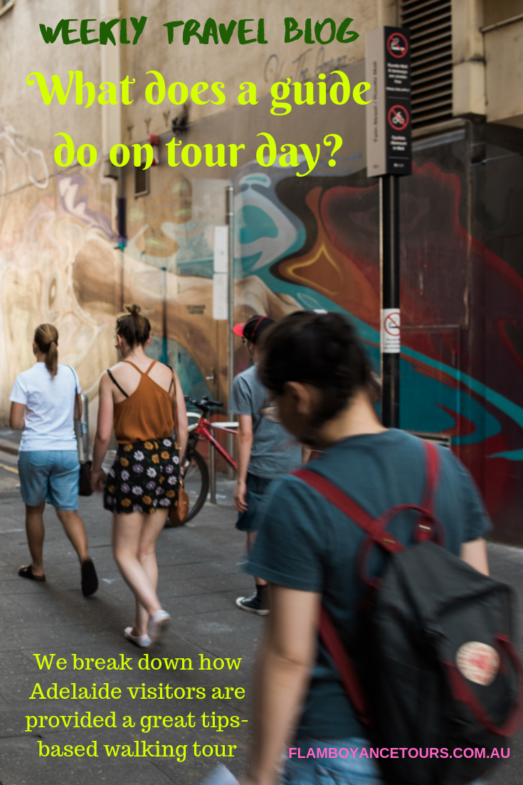 A Break Down Of One Part Of A Tour Guide S Job It S More Complex