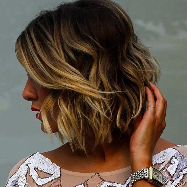 31 Cool Balayage Ideas For Short Hair Choppy Bob