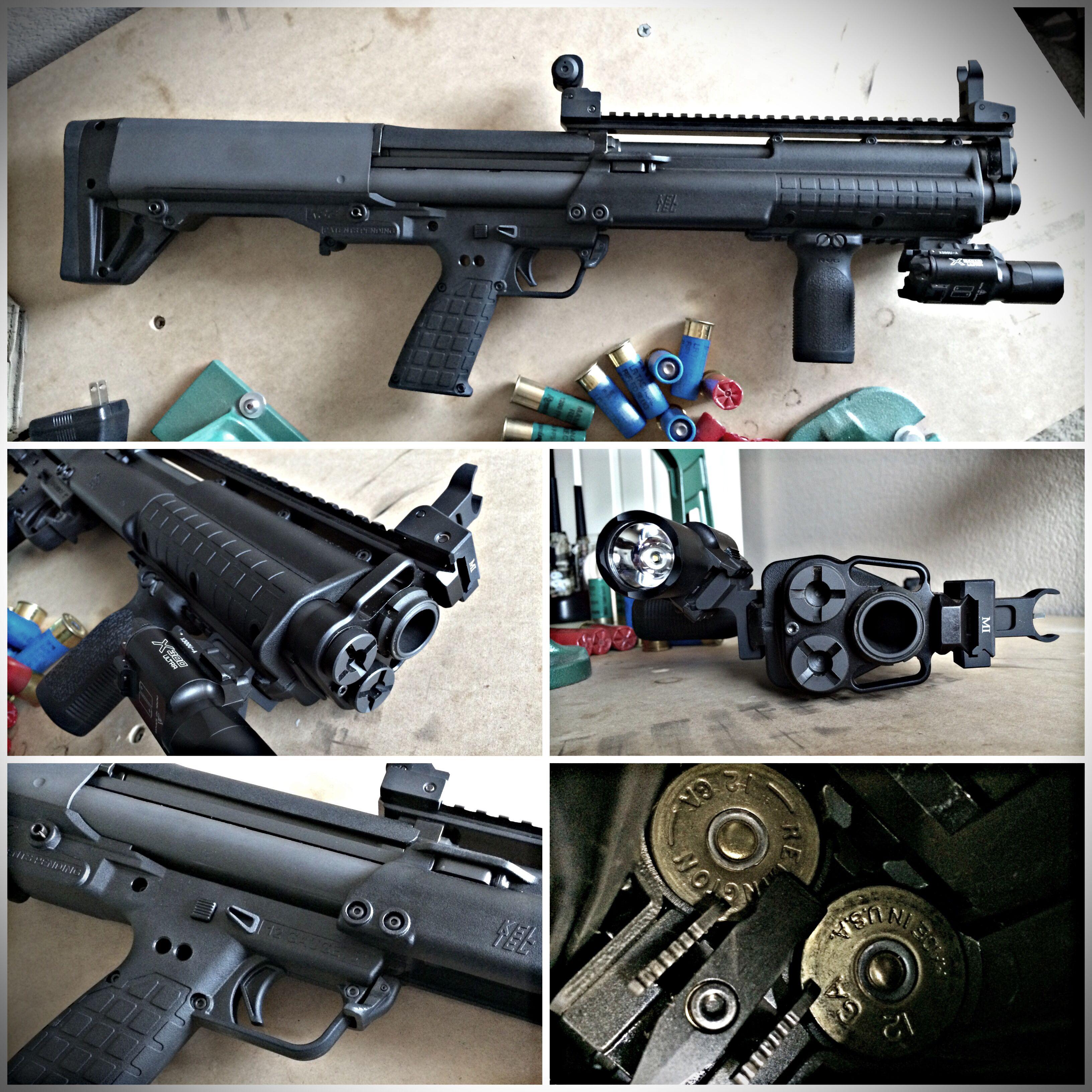 Kel-Tec KSG 12ga bullpup shotgun has 18.5\