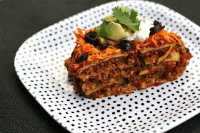 The Ordinary Vegetarian: Mexican Zucchini Lasagna
