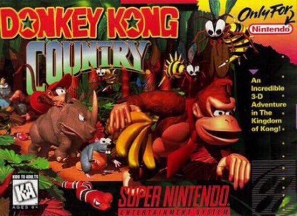 Donkey Kong Country Came Out 23 Years Ago Today Donkey Kong Juegos Retro Consola De Juegos