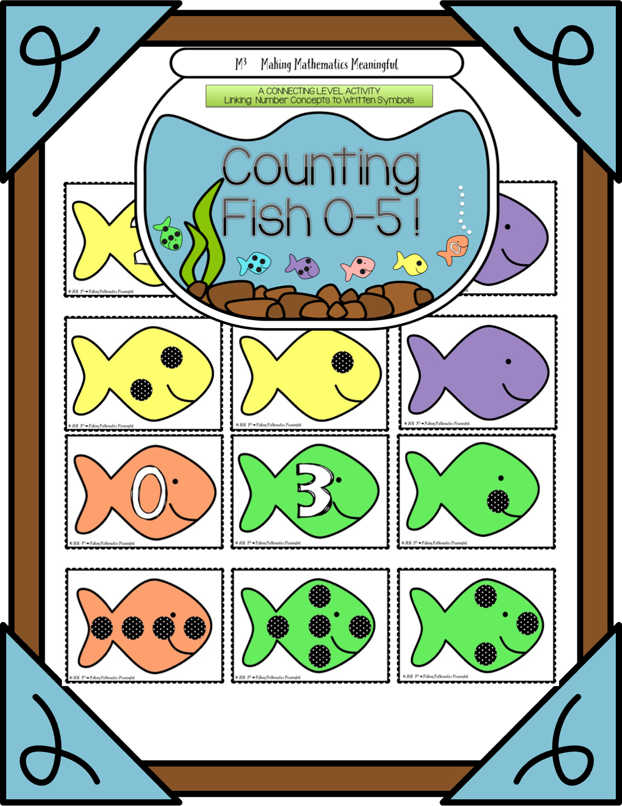 Counting And Cardinality 0 5 Counting Fish