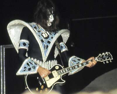 Ace Frehley Les Paul History 1980 To 1982 Kiss Ace Frehley