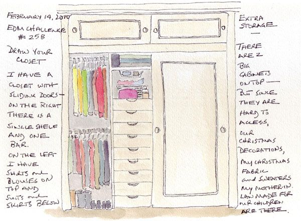 Great Closet Drawing   Google Search