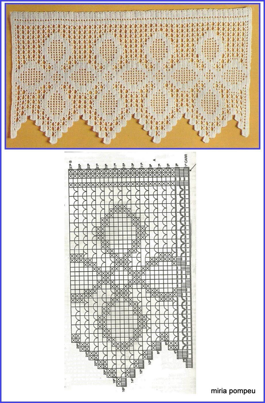 Image36.jpg (922×1402) | Barrado de croche | Pinterest | Ganchillo ...